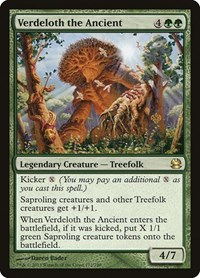 Verdeloth the Ancient, Magic: The Gathering, Modern Masters