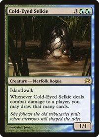 Cold-Eyed Selkie, Magic: The Gathering, Modern Masters