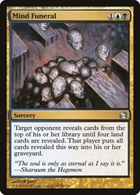 Mind Funeral, Magic: The Gathering, Modern Masters