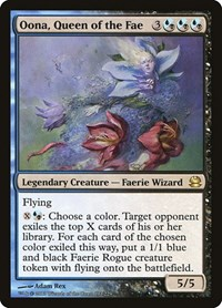 Oona, Queen of the Fae, Magic: The Gathering, Modern Masters