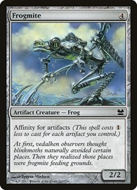 Frogmite, Magic: The Gathering, Modern Masters