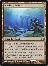 Academy Ruins, Magic: The Gathering, Modern Masters