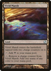 Vivid Marsh, Magic: The Gathering, Modern Masters