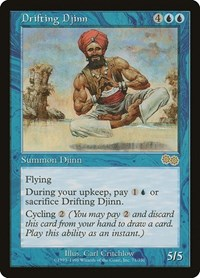 Drifting Djinn, Magic: The Gathering, Urza's Saga