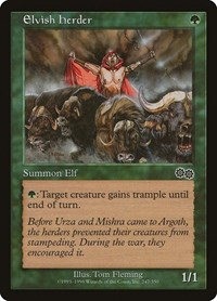 Elvish Herder, Magic: The Gathering, Urza's Saga