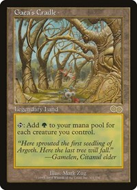 Gaea's Cradle, Magic: The Gathering, Urza's Saga