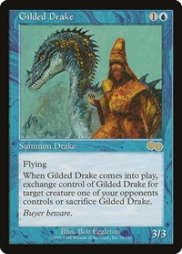 Gilded Drake, Magic, Urza's Saga