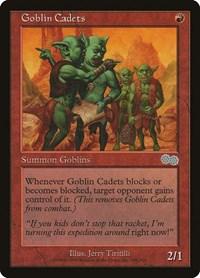 Goblin Cadets, Magic: The Gathering, Urza's Saga