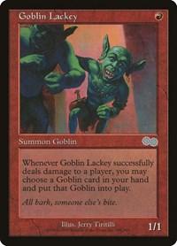 Goblin Lackey, Magic, Urza's Saga