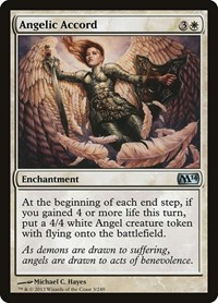 Angelic Accord, Magic: The Gathering, Magic 2014 (M14)