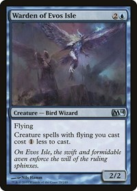 Warden of Evos Isle, Magic: The Gathering, Magic 2014 (M14)