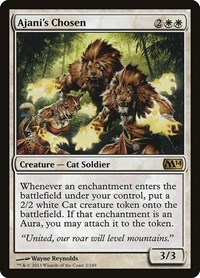 Ajani's Chosen, Magic, Magic 2014 (M14)
