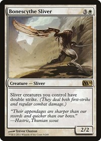 Bonescythe Sliver, Magic: The Gathering, Magic 2014 (M14)