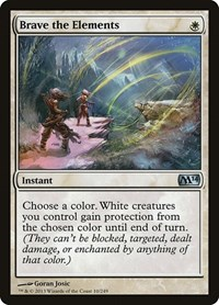 Brave the Elements, Magic: The Gathering, Magic 2014 (M14)