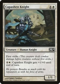 Capashen Knight, Magic: The Gathering, Magic 2014 (M14)
