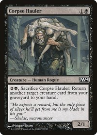 Corpse Hauler, Magic, Magic 2014 (M14)