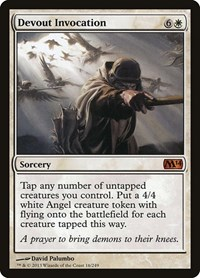 Devout Invocation, Magic: The Gathering, Magic 2014 (M14)