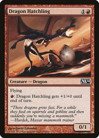 Dragon Hatchling, Magic, Magic 2014 (M14)