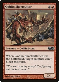 Goblin Shortcutter, Magic: The Gathering, Magic 2014 (M14)