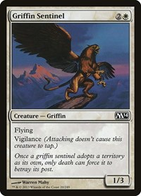 Griffin Sentinel, Magic: The Gathering, Magic 2014 (M14)