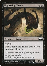 Nightwing Shade, Magic: The Gathering, Magic 2014 (M14)