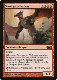 Scourge of Valkas, Magic: The Gathering, Magic 2014 (M14)