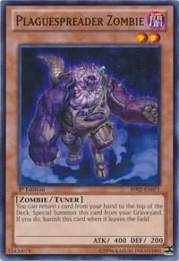 Plaguespreader Zombie, YuGiOh, Battle Pack 2: War of the Giants