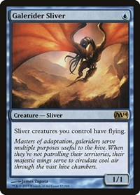 Galerider Sliver, Magic: The Gathering, Magic 2014 (M14)