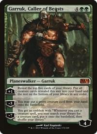 Garruk, Caller of Beasts, Magic, Magic 2014 (M14)