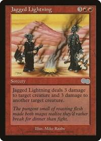 Jagged Lightning, Magic: The Gathering, Urza's Saga