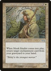 Monk Idealist, Magic: The Gathering, Urza's Saga