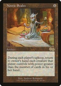 Noetic Scales, Magic: The Gathering, Urza's Saga