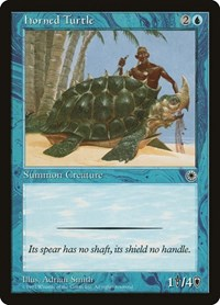 Horned Turtle, Magic: The Gathering, Portal