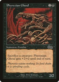 Phyrexian Ghoul, Magic: The Gathering, Urza's Saga