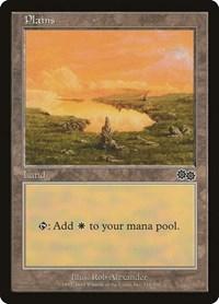 Plains (334), Magic: The Gathering, Urza's Saga