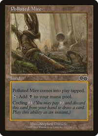 Polluted Mire, Magic: The Gathering, Urza's Saga