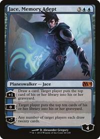 Jace, Memory Adept, Magic: The Gathering, Magic 2014 (M14)