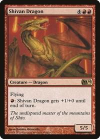 Shivan Dragon, Magic: The Gathering, Magic 2014 (M14)