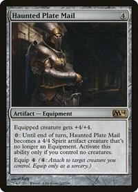 Haunted Plate Mail, Magic: The Gathering, Magic 2014 (M14)