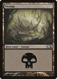 Swamp (238), Magic: The Gathering, Magic 2014 (M14)