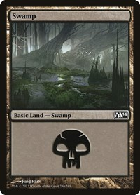 Swamp (240), Magic: The Gathering, Magic 2014 (M14)