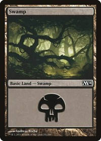 Swamp (241), Magic: The Gathering, Magic 2014 (M14)