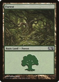 Forest (246), Magic: The Gathering, Magic 2014 (M14)