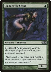 Gladecover Scout, Magic: The Gathering, Magic 2014 (M14)