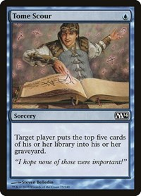Tome Scour, Magic: The Gathering, Magic 2014 (M14)