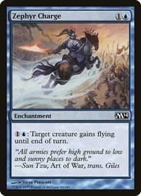 Zephyr Charge, Magic: The Gathering, Magic 2014 (M14)
