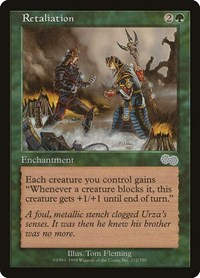 Retaliation, Magic: The Gathering, Urza's Saga