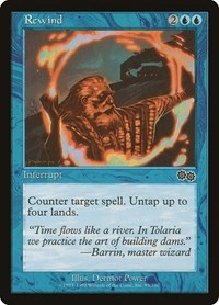 Rewind, Magic: The Gathering, Urza's Saga