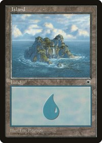 Island (Waterfall), Magic, Portal