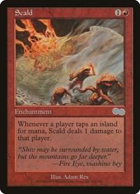 Scald, Magic: The Gathering, Urza's Saga